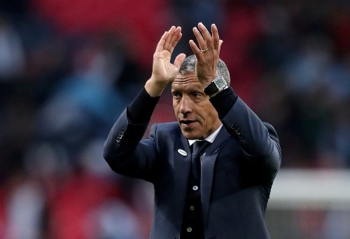 Soccer: Hughton 'disappointed and surprised' by Brighton exit