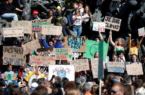 Inspired by Greta Thunberg, worldwide protest demands climate action