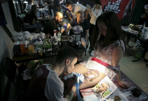 Tattoo artists compete for top awards at international festival