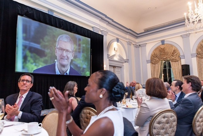 Apple's Tim Cook Delivers Blistering Speech On Encryption, Privacy