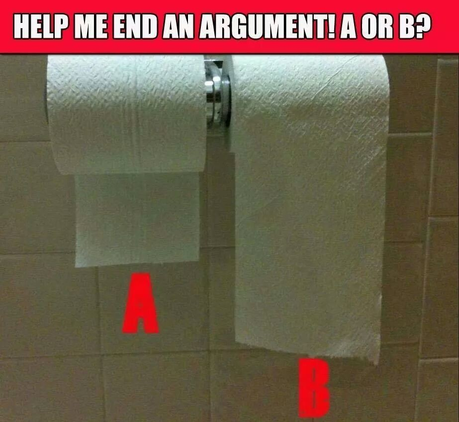 ALWAYS B!!! Never A ugh rage mode activated otherwise!! Seriously