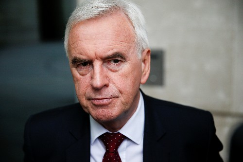 UK Labour's McDonnell privately says party should campaign to prevent Brexit: report