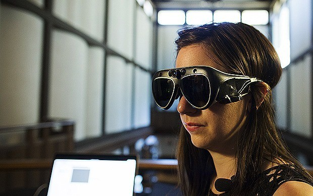 Iron Man technology becomes reality with 3D SpaceGlasses