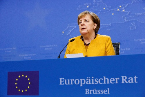 EU leaders call for end to 'naivety' in relations with China