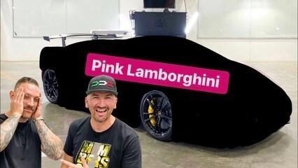 Insane Pink Lamborghini