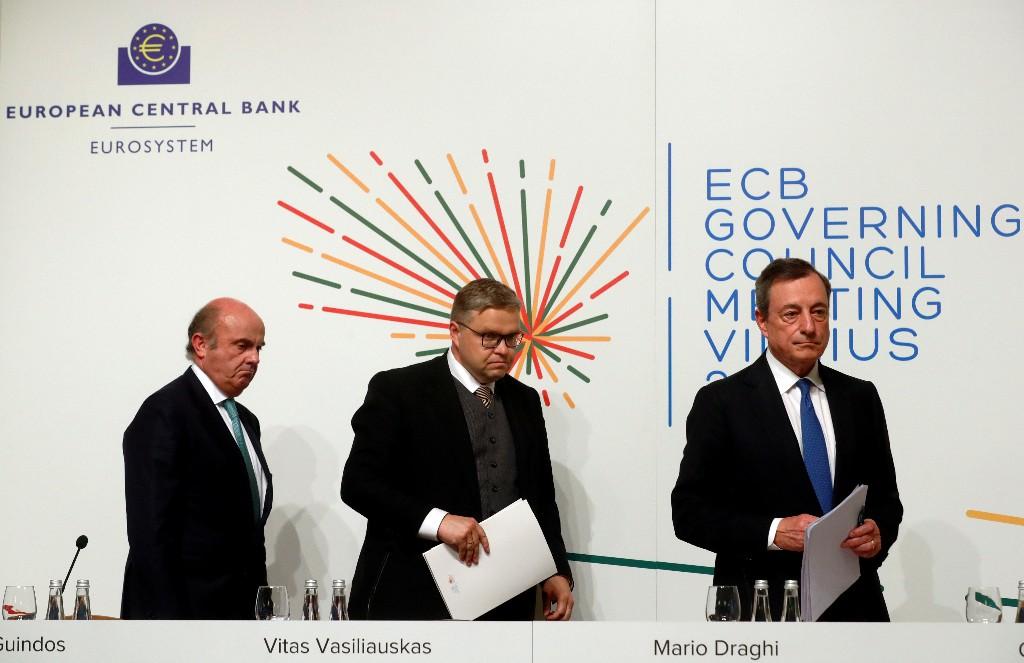 El Ibex cierra al alza pese a que el BCE empaña el ánimo de los inversores