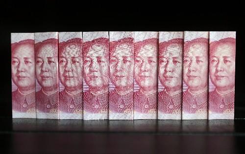 Cina lascia yuan rompere livello chiave 7 per dlr per prima volta in oltre 10 anni