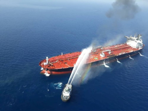 Tanker attacks seen as calibrated but risky Iranian response to U.S. sanctions