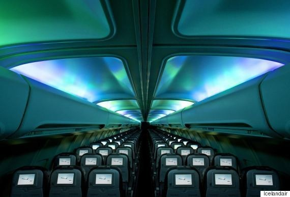 Icelandair's Northern Lights Plane Guarantees A Sparkly Show On Every Flight | HuffPost Life