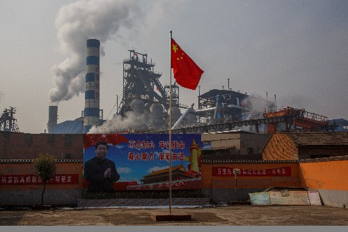 A pollution crackdown compounds slowdown woes in China's heartland