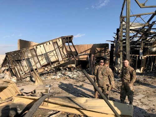 Pentagon denies trying to underplay injuries from Iran attack
