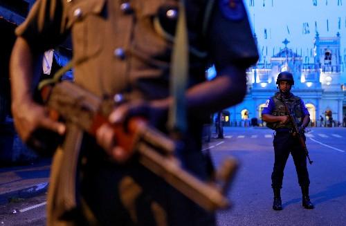 Sri Lanka police bring five Easter bomb suspects back from Saudi Arabia