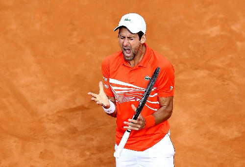 Tennis: Djokovic concedes he has mountain to climb at French Open