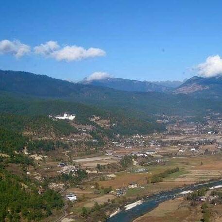 Bhutan The Land Of Happiness - Magazine cover