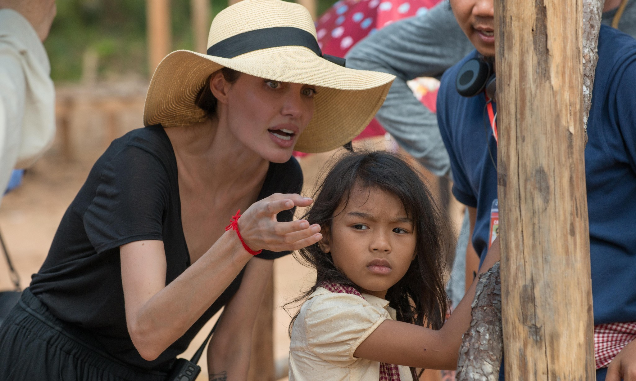 Among the ghosts of Cambodia's killing fields: on the set of Angelina Jolie's new film