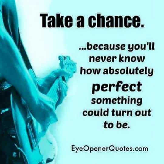 Take a Chance #quotes #thoughts #wisdom #motivation #inspiration