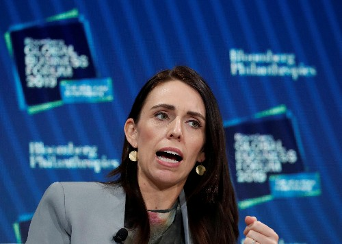 Poll showing fall in support dims election outlook for New Zealand's Ardern