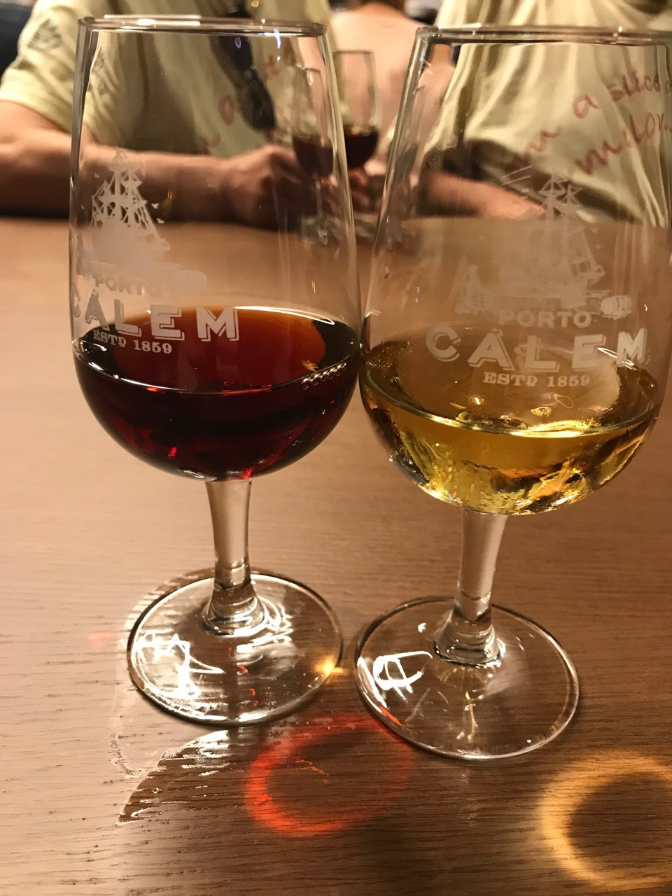 Tawny and White Port tasting in Porto.