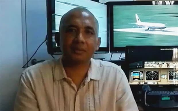 MH370 captain plotted route to southern Indian Ocean on home simulator