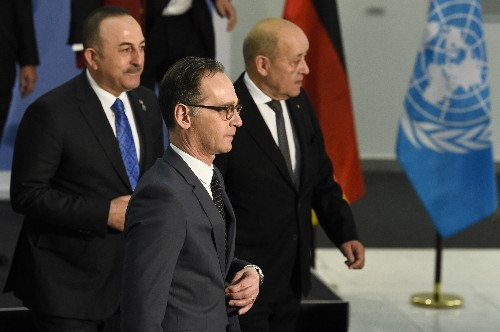 Powers renew pledge to uphold Libya arms embargo