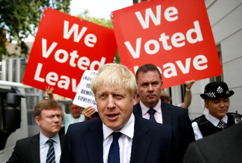 British PM Johnson's party takes 14 percent point lead over Labour: Kantar poll