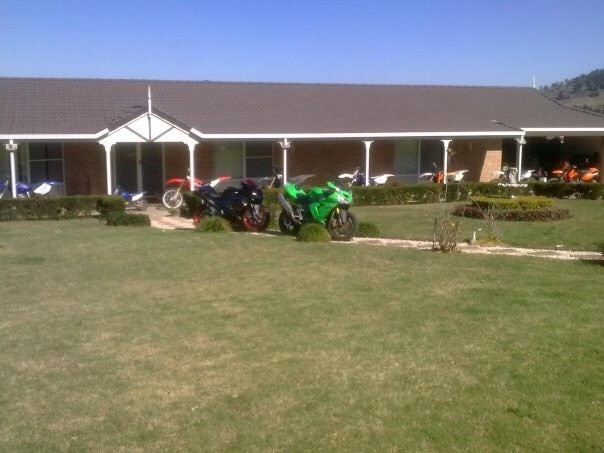 When I owned a few bikes