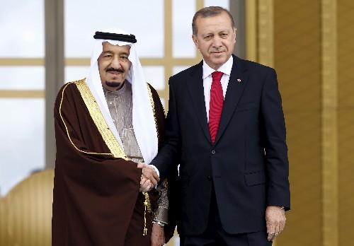 Turkey's Erdogan calls Saudi king on Muslim holiday: SPA