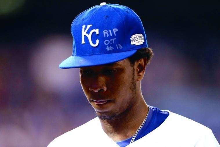 Royals Pitcher Yordano Ventura Honors Oscar Taveras with Message on Hat