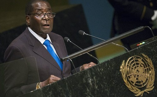 Robert Mugabe at UN General Assembly says: We are not gays