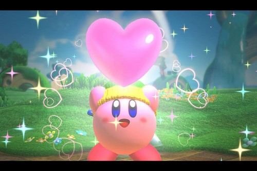 Nintendo's new Kirby is the rare co-op game that's fun to play with kids
