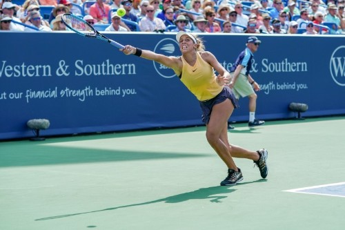 WTA roundup: Keys downs Kuznetsova to win Cincinnati title