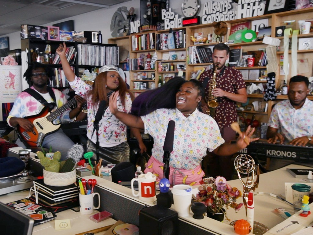 Listen To The New Single From Tiny Desk Contest Winners Tank And The Bangas