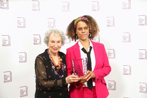Rule-breaking Booker judges honor Atwood, Evaristo with rare double prize