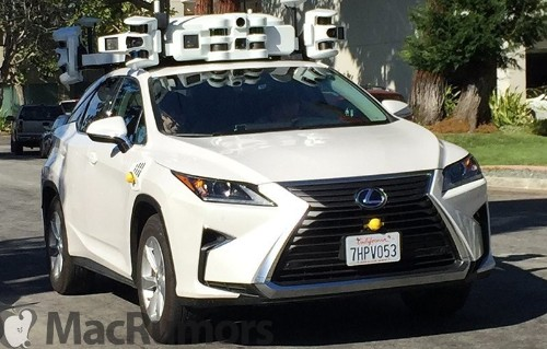 Apple 'Accelerating' Efforts to Catch Up With Self-Driving Competition, Expands California Fleet to 27 Vehicles