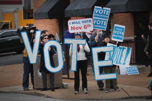 Down to the Wire in the Midterm Election Campaigns: Pictures
