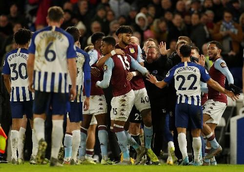 Late Grealish goal earns Villa crucial point at Brighton