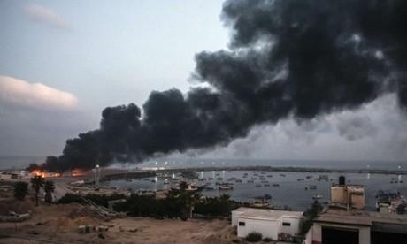 Israel pounds Gaza after Netanyahu promises prolonged battle