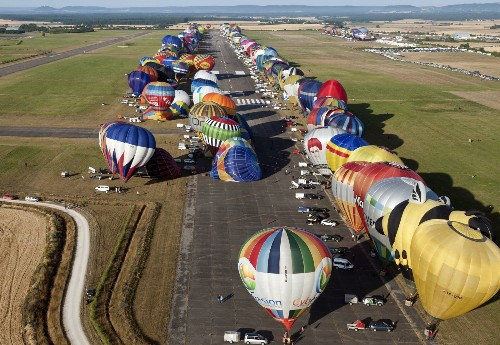 Hot-Air Ballooning in France