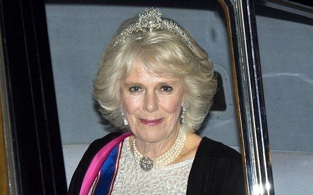 Camilla, the Duchess of Cornwall wears stunning tiara at Buckingham Palace ball