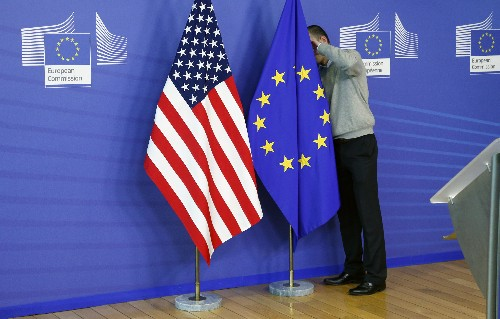 EU leaders will ask ministers to clear negotiating mandates for U.S. trade talks