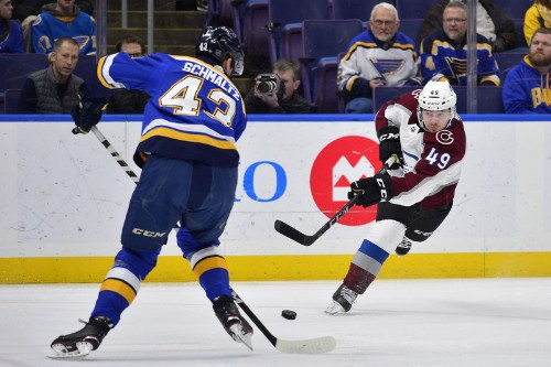 O'Reilly's OT goal puts Blues past Avalanche