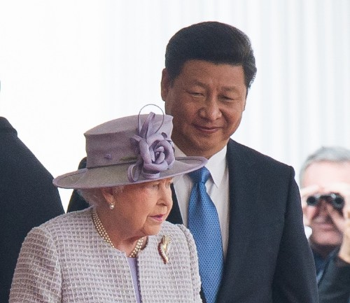 China's President Xi Jinping Begins State Visit to Great Britain: Pictures