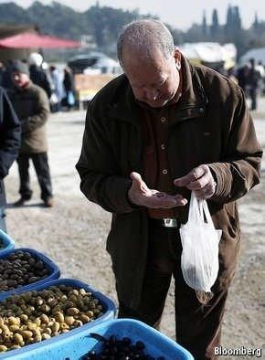 Greece's economy is running on empty