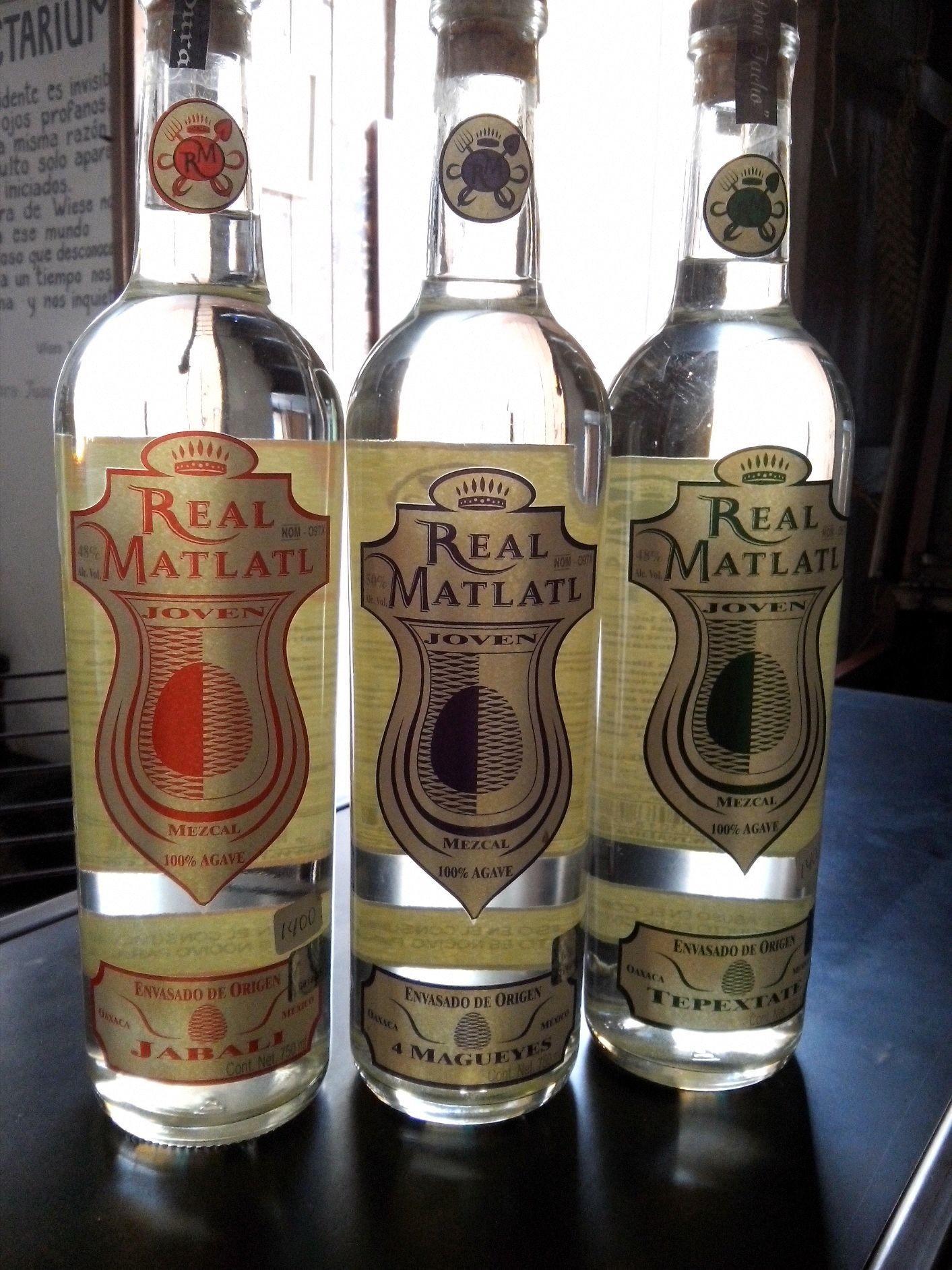 Prueba lo nuevo se Real Matatl. 4 magueyes, jabalí,Tepextate. A la.venta en In Situ.