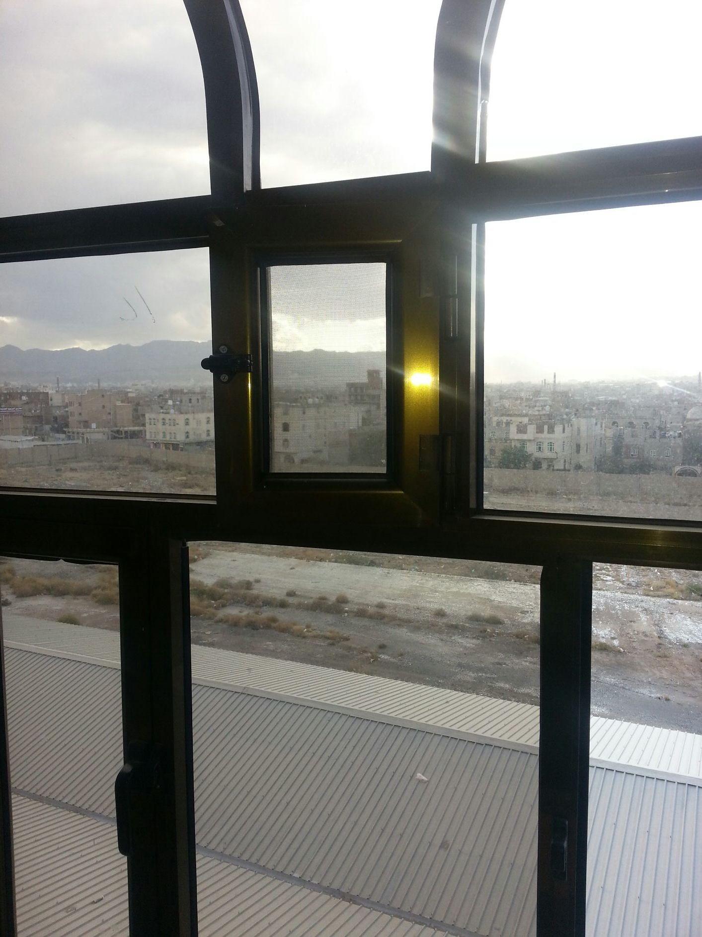 اطلاله جميلة من نافذة المعهد