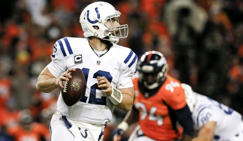 Andrew Luck and Colts upset Peyton Manning and Broncos, 24-13