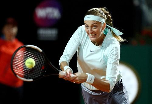 Calf injury brakes Kvitova's French Open momentum