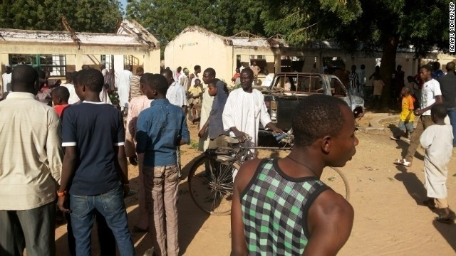 47 people killed in bombing outside Nigerian school; Boko Haram suspected