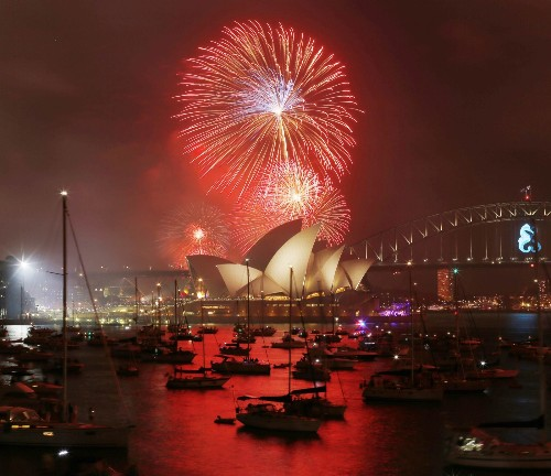 Happy New Year! From Sydney to Asia