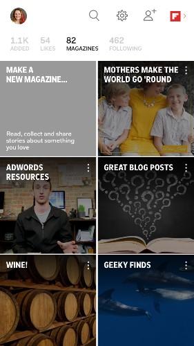 Lee, guarda, comparte: toda una experiencia en Flipboard en tres etapas
